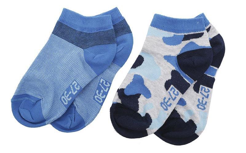 Dětské ponožky Melton Camo Stripes 2 páry – Aqua Blue - Skibi Kids 24f520da9a