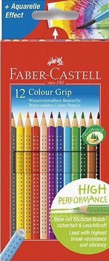 Faber-Castell Pastelky trojboké GRIP,rozmyvatelné - 12 ks