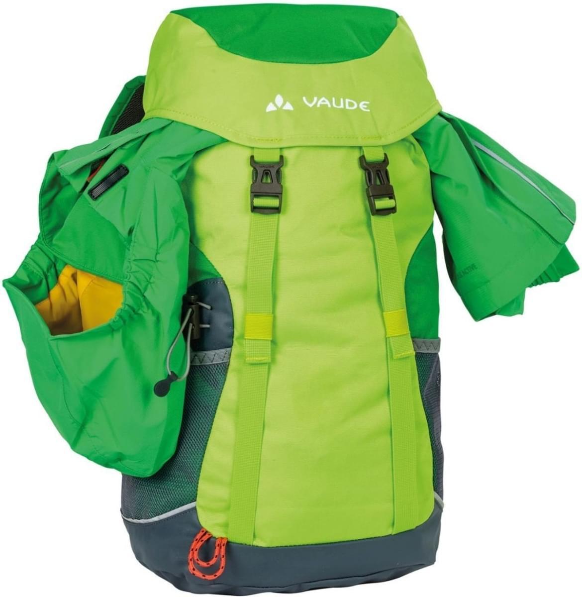 c39c631891 Dětský batoh Vaude Puck 14 - green spinel - Skibi Kids