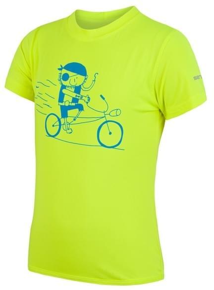 Dětské sportovní triko s krátkým rukávem Sensor Coolmax Fresh PT - reflex  yellow pirate 02725eee60