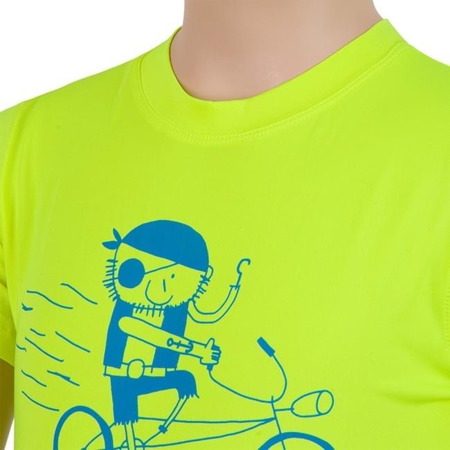 Dětské sportovní triko s krátkým rukávem Sensor Coolmax Fresh PT - reflex  yellow pirate ... 53d913d2d0