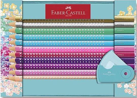 Faber-Castell Sada pastelek Sparkle,box 20 ks,ořezáv.