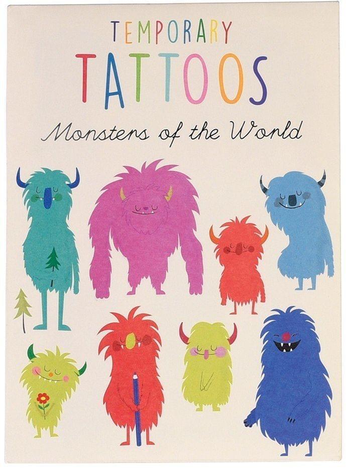 35f7b87746f Sada tetování s motivem příšerek - Skibi Kids