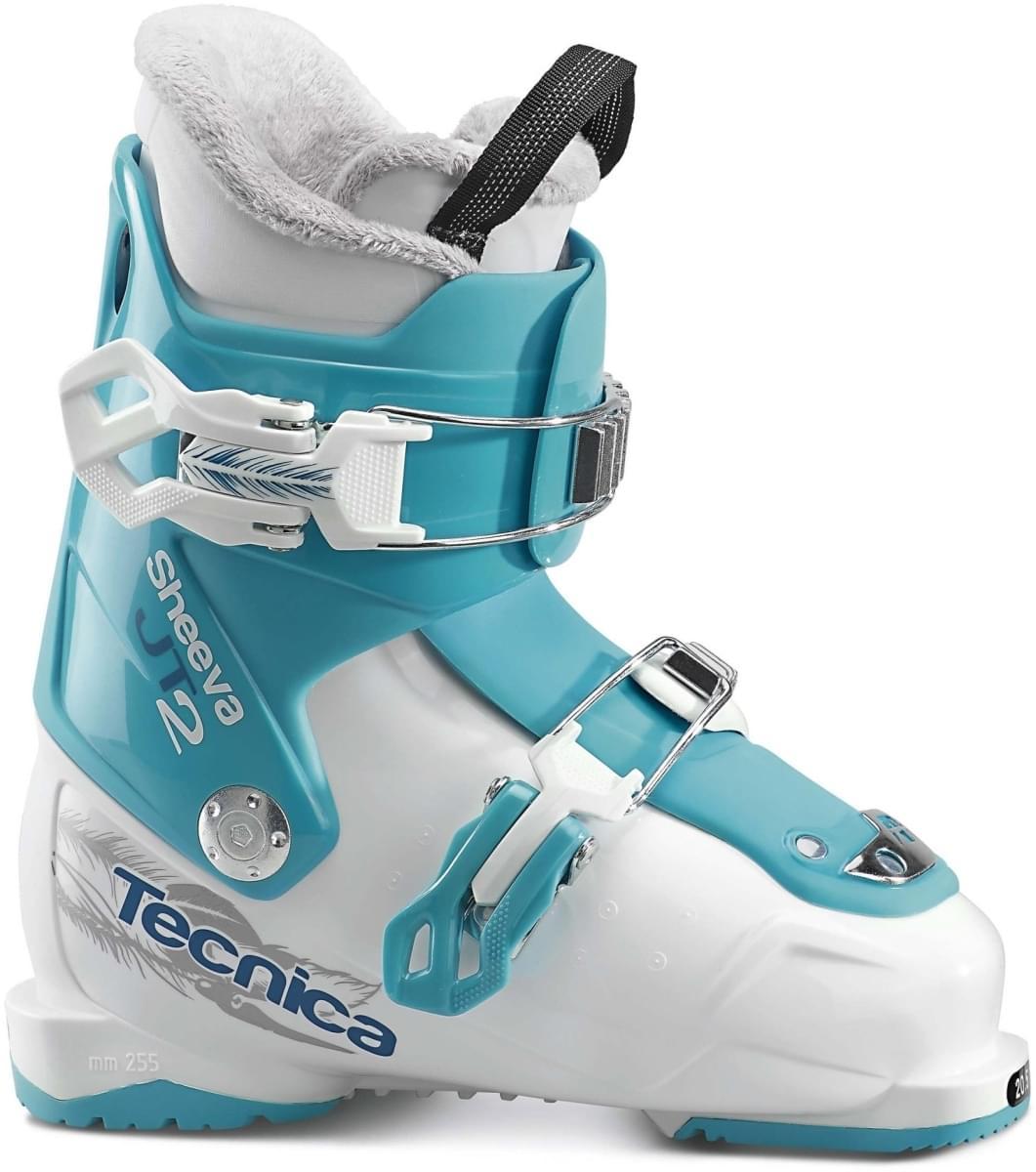 Dětské lyžařské boty Tecnica JT 2 Sheeva - white-blue - Skibi Kids 4932aeb266