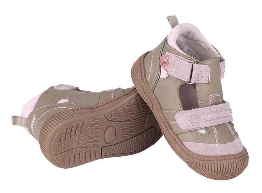 d883829eaac1 Dětské kožené sandály Reima Pastilli – beige - Skibi Kids