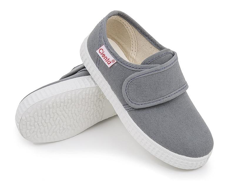c14b15c19c Dětské botičky Cienta Blucher Velcro - gris - Skibi Kids