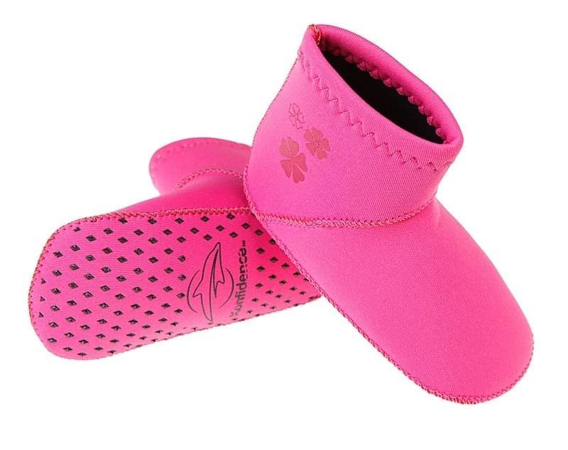 Dětské plážové neoprenové boty Konfidence - růžové - Skibi Kids 9c338c6abc