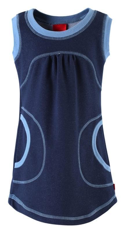 429ce24d80c0 Funkční šaty Hanna Reima – navy blue - Skibi Kids
