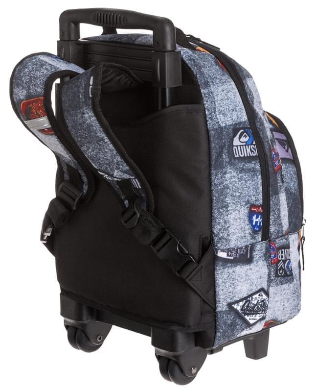 c61ddeea43 Chlapecký batoh na kolečkách Quiksilver Primary Wheels - patch ...