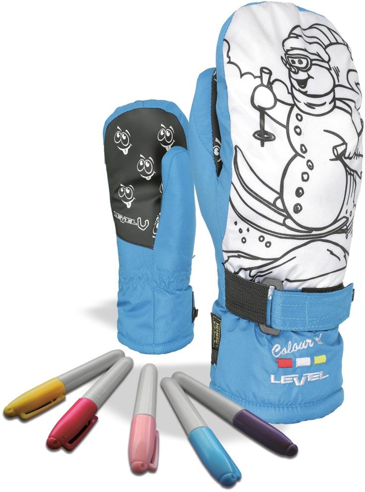 69eef913e11 Dětské palčáky Level Pop-Art Jr Mitt - light blue - Skibi Kids