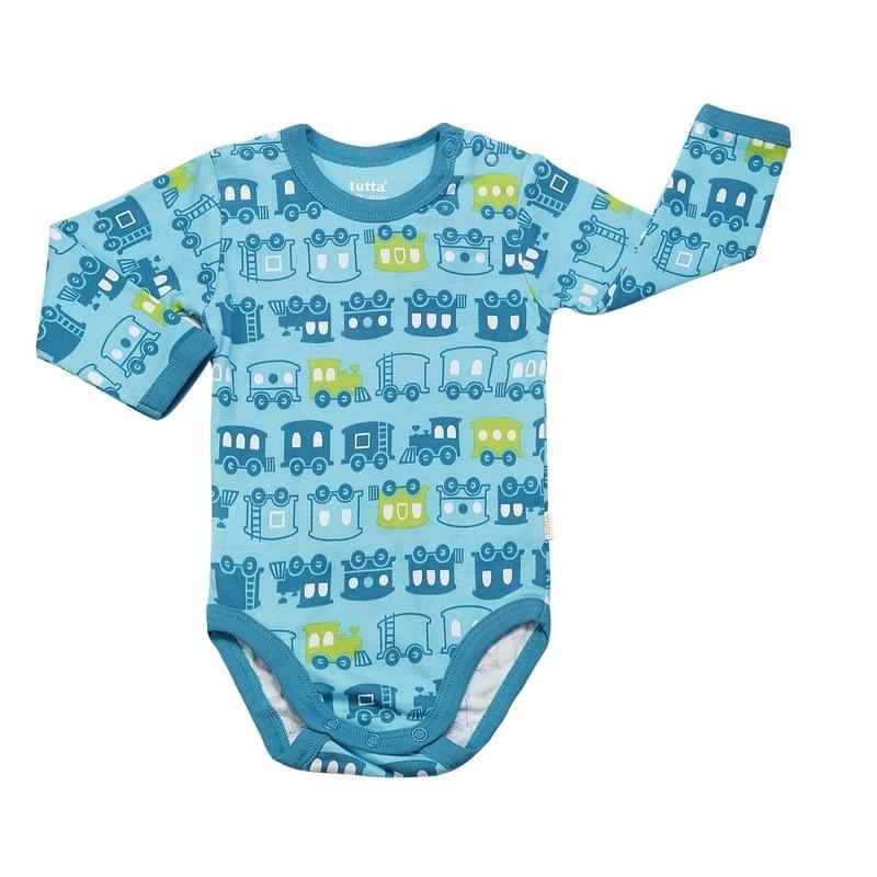 ae54aee58322 Dětské body Tutta s dl.rukávem - blue radiance - Skibi Kids