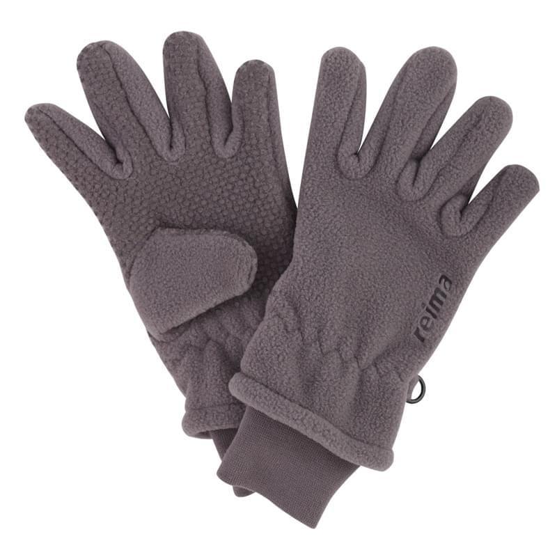 e7de97a4831 Dětské fleecové rukavice Reima Byway – grey - Skibi Kids