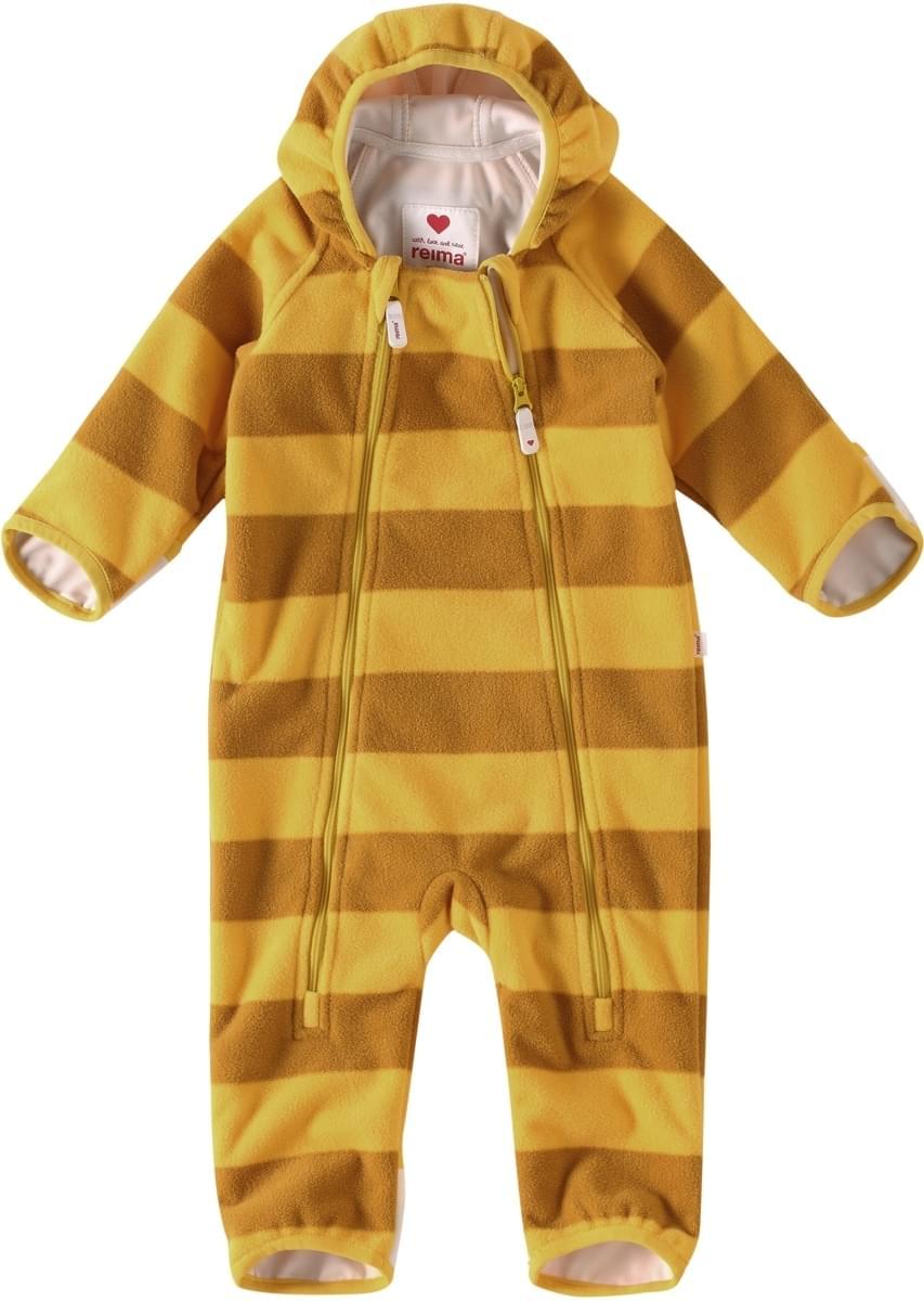 7e2b6ab4042 Dětský windfleecový overal Reima Tilhi - Yellow - Skibi Kids