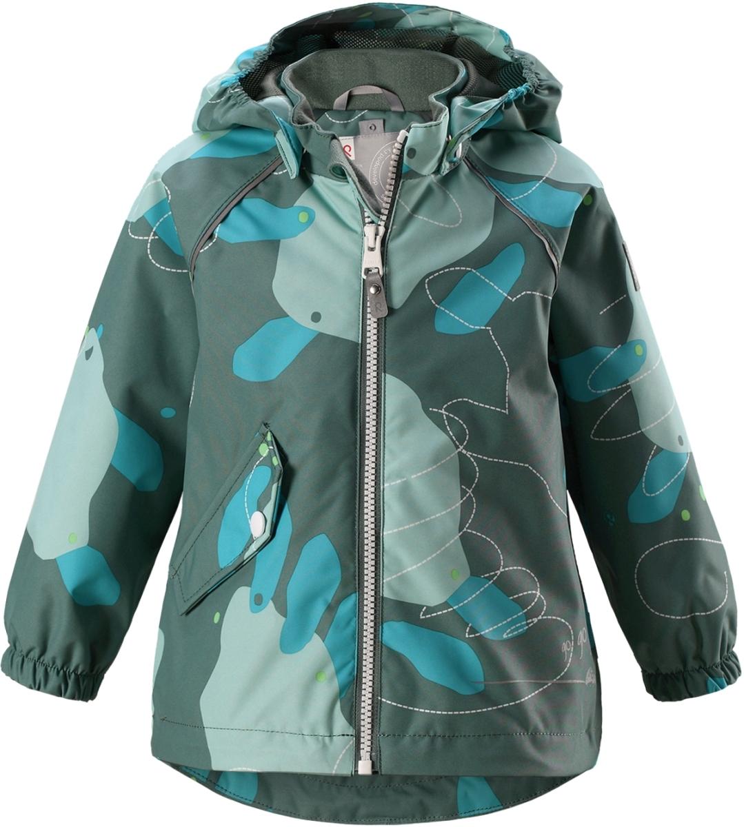 Dětská membránová bunda Reima Forest - Soft green - Skibi Kids f1a04c5e0b