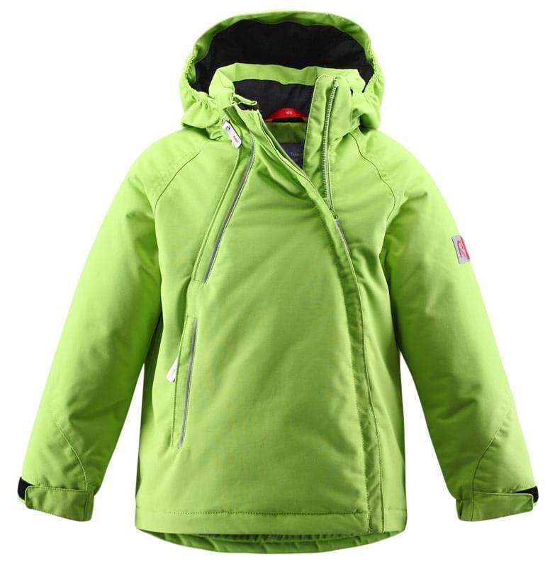 Dětská zimní membránová bunda Mero Reima – lime - Skibi Kids 98703d6e87