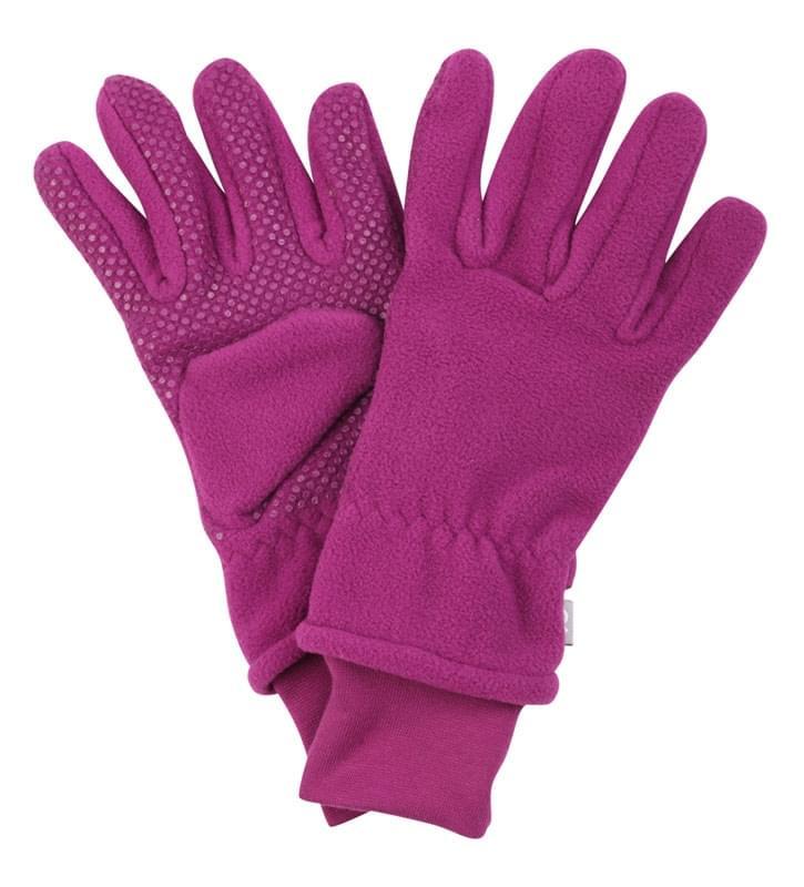 88ccf76767a Dětské zimní fleecové rukavice Hans - boysenberry - Skibi Kids