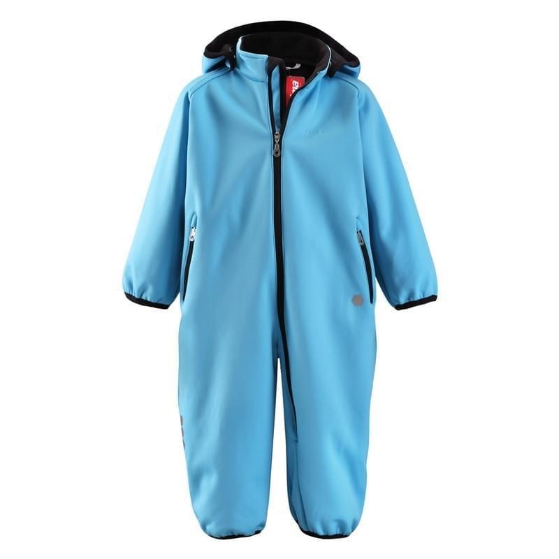Dětský softshellový overal Reima Ammonite - aqua blue - Skibi Kids 73b3247826