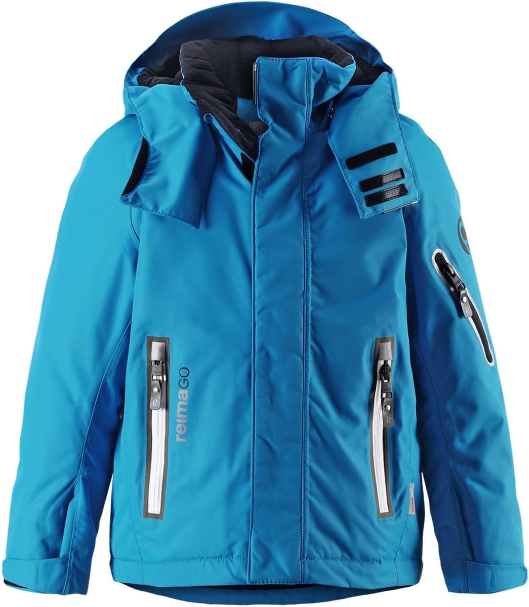 7855c37bba6 Dětská zimní bunda Reima Regor - Blue - Skibi Kids