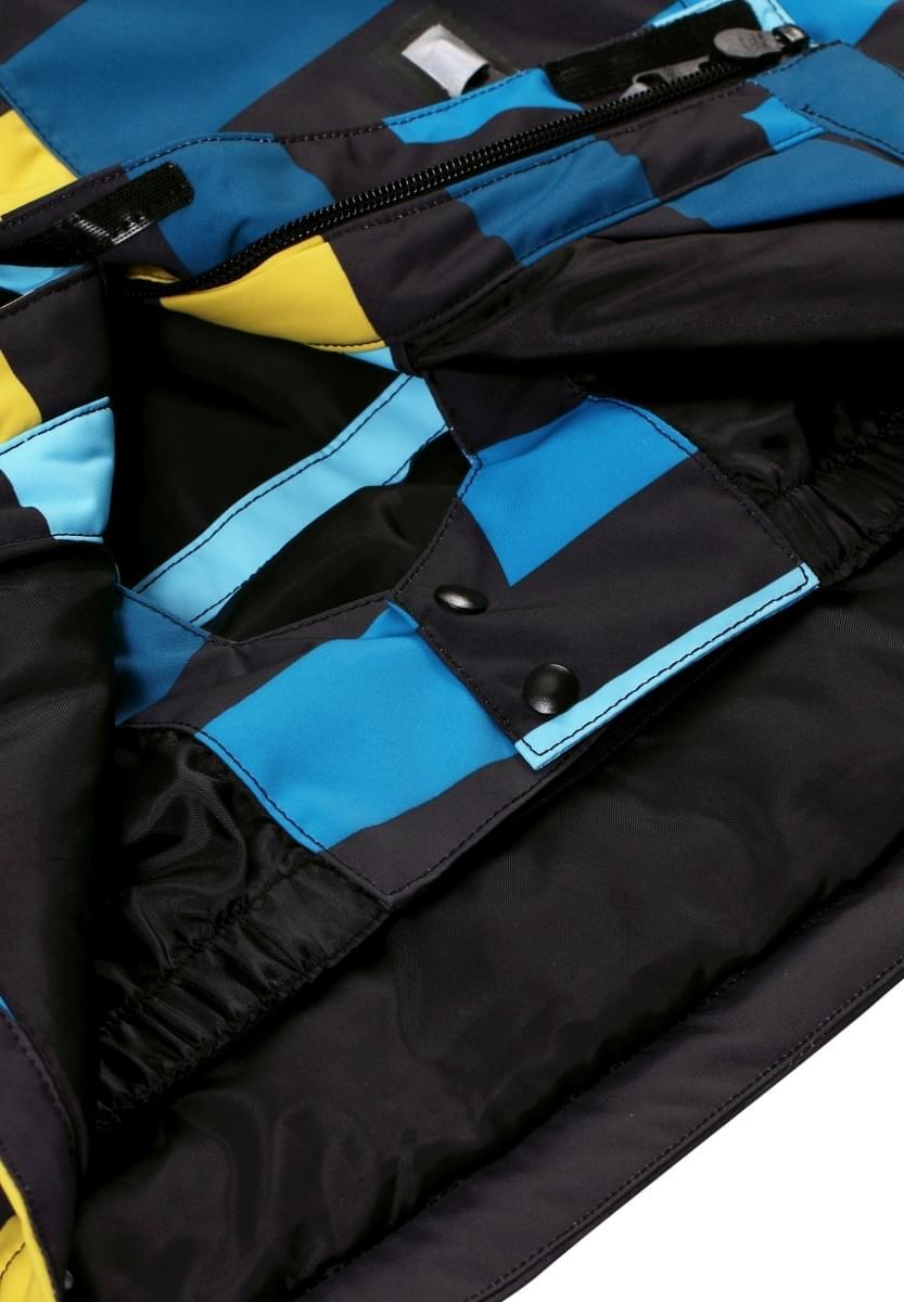 123150d8dca Dětská zimní bunda Reima Regor - Blue stripes - Skibi Kids