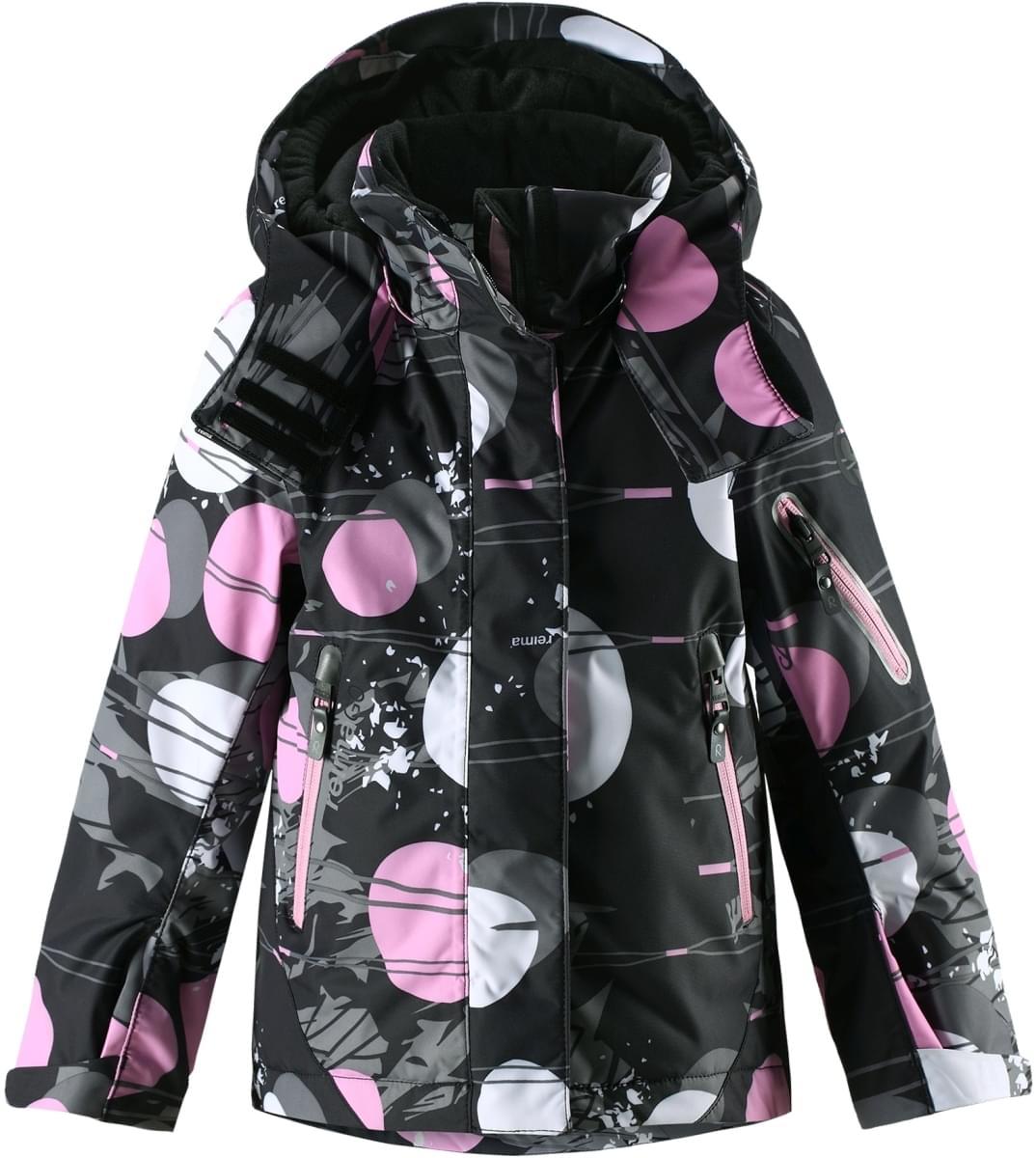 0ee070ce183 Dětská zimní bunda Reima Roxana - Black - Skibi Kids