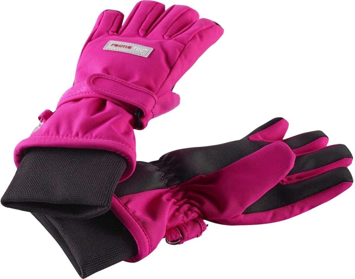 9afdec535cc Dětské rukavice Reima Pivo - pink - Skibi Kids