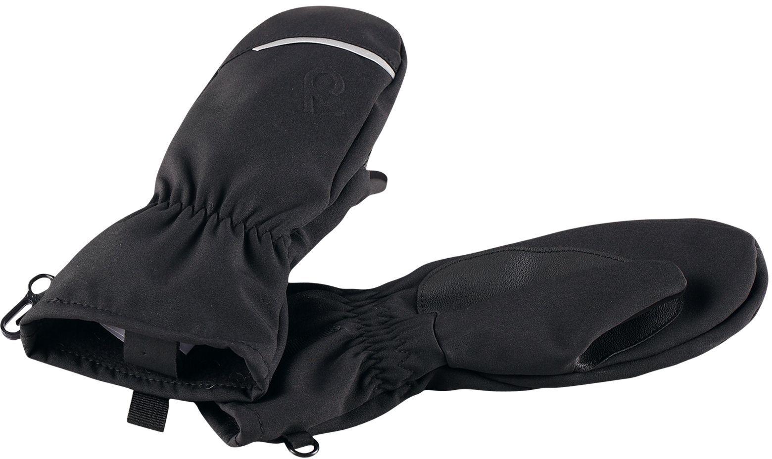 42dac363ee4 Dětské softshellové palčáky Reima Etappi - black