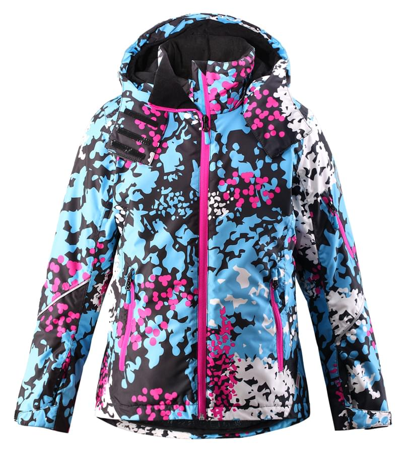 Dívčí bunda Reima Glow – Glacier blue - Skibi Kids 94caf51781