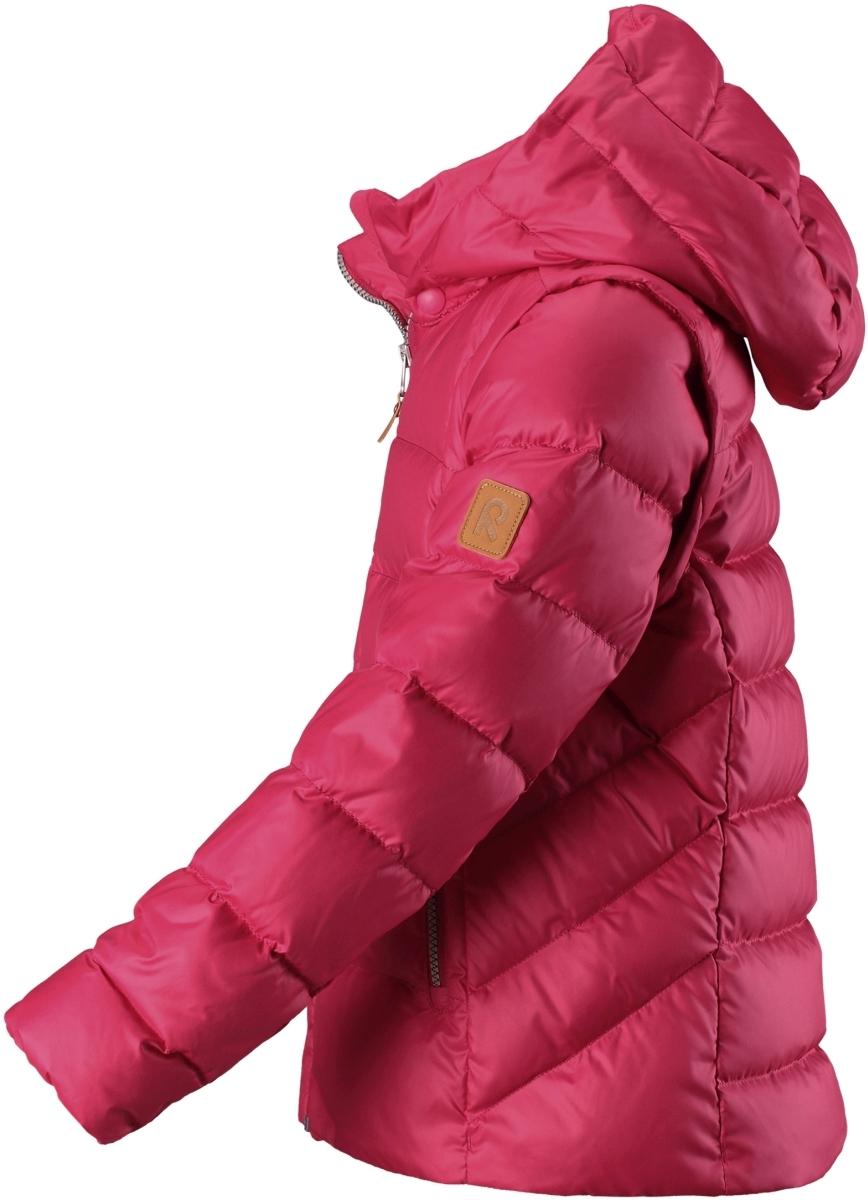 fb04e155a8b Dívčí zimní péřová bunda Reima Minna - rose - Skibi Kids