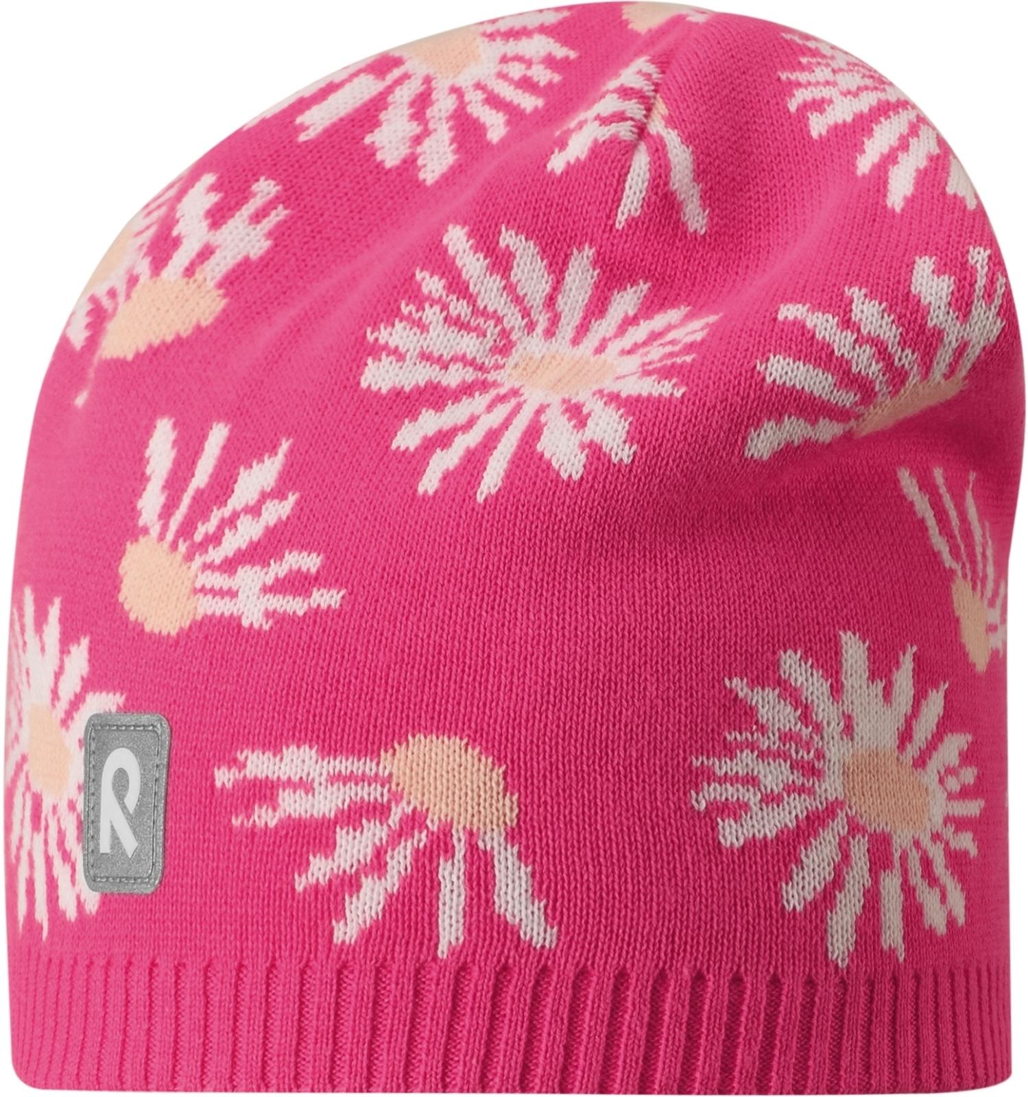 Dětská čepice Reima Lehto - candy pink - Skibi Kids 01a397cbad