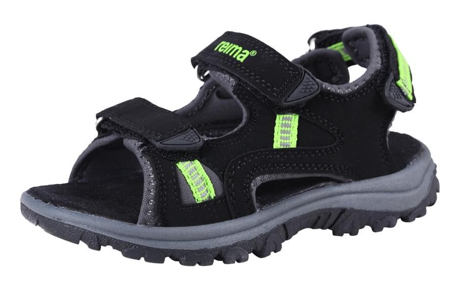 Dětské sandály Reima Lagan - black - Skibi Kids 88625351e5