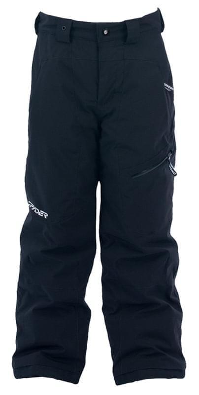 Dětské lyžařské kalhoty Spyder Propulsion - black - Skibi Kids 4547d4a757