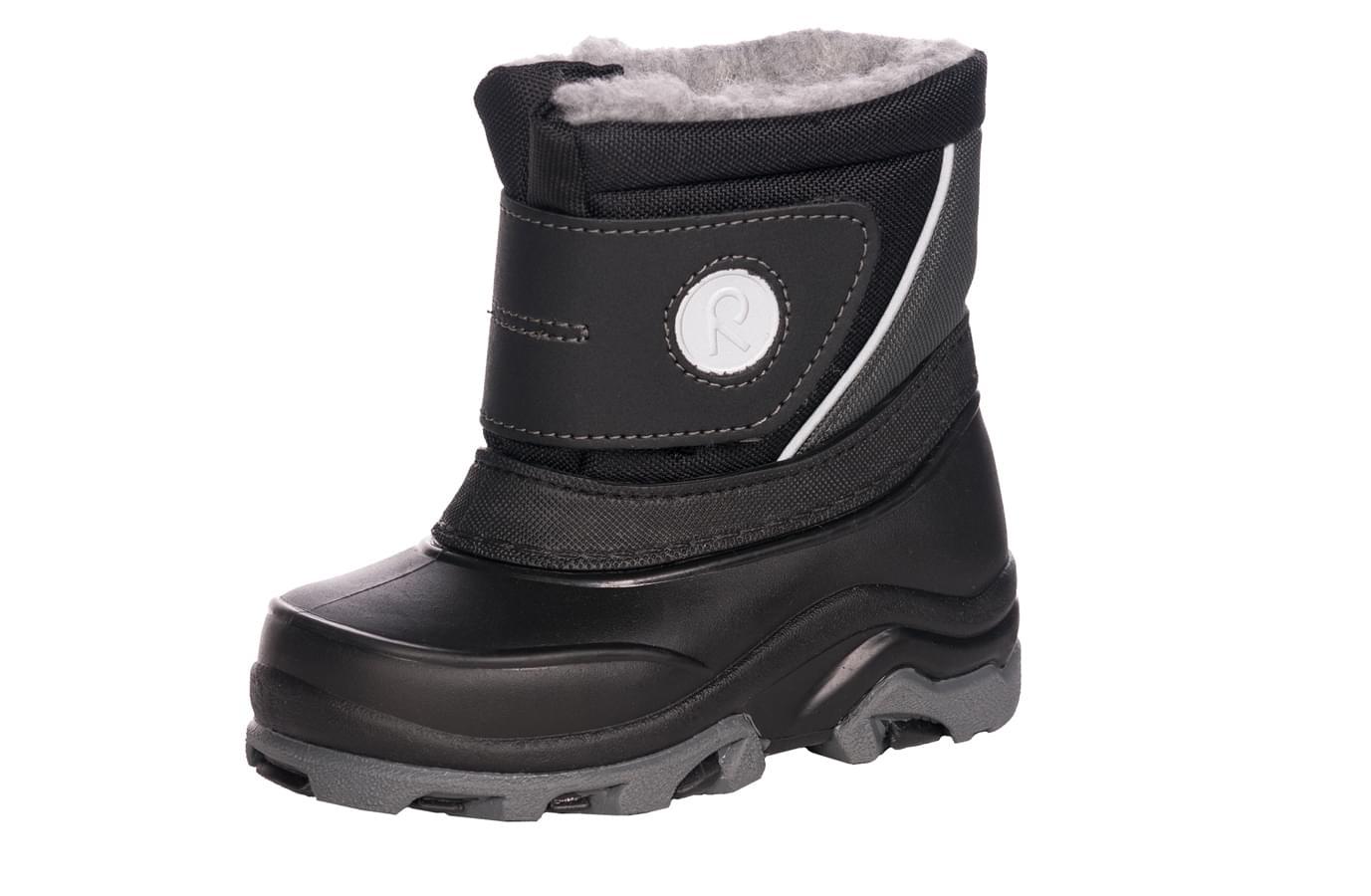 9f6f79f7704 Dětské zimní boty Reima Halla Toddler - Black - Skibi Kids