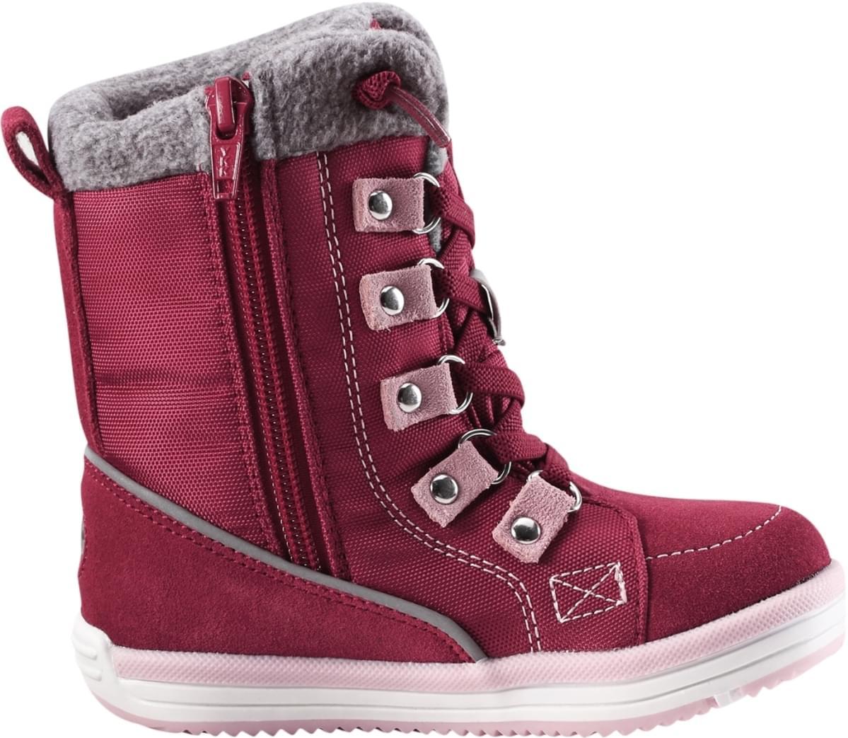 Dětské zimní boty Reima Freddo Toddler - Dark berry - Skibi Kids ff57ebe388