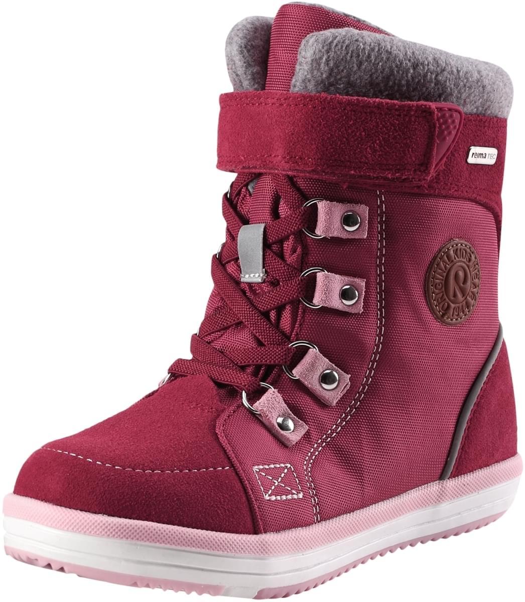 42fbb061ed8 Dětské zimní boty Reima Freddo Jr - Dark berry - Skibi Kids