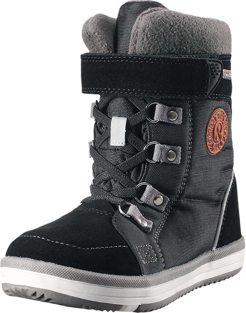 7b9d875b813 Dětské zimní boty Reima Freddo Jr - Black - Skibi Kids