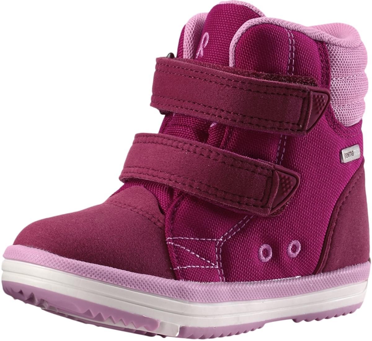 4a73ea00014 Dětské boty Reima Patter Wash - Dark berry - Skibi Kids