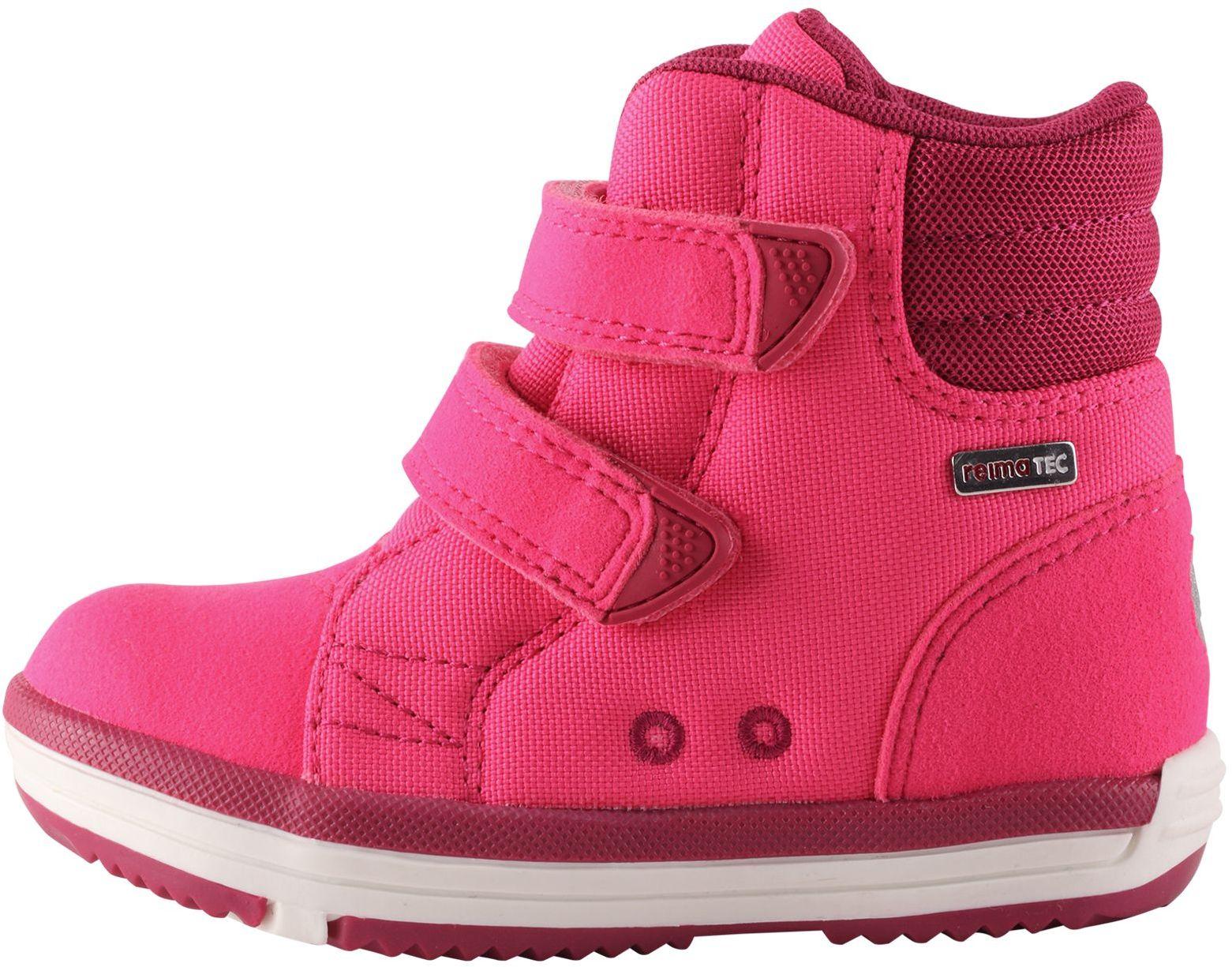 Dětské membránové boty Reima Patter Wash - candy pink - Skibi Kids dd16a57a85