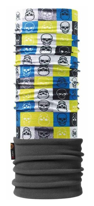 abd8dd8720d Juniorský multifunkční šátek Buff Polar Junior - Clave Grey - Skibi Kids