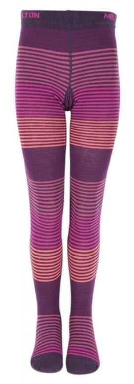 93c623d2df1 Dětské punčocháče Melton Slim Lines - dusty purple - Skibi Kids