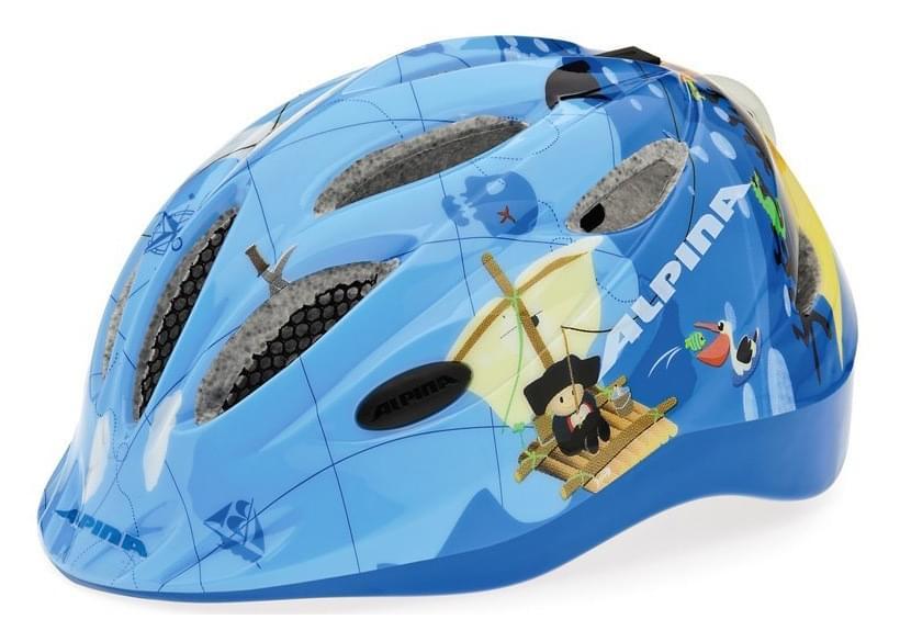 Dětská cyklistická helma Alpina Gamma 2.0 Flash - pirate - Skibi Kids 485efecb212