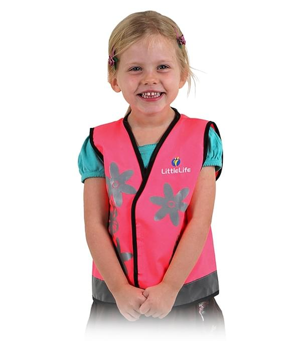 Dětská reflexní vesta LittleLife - butterfly S LittleLife