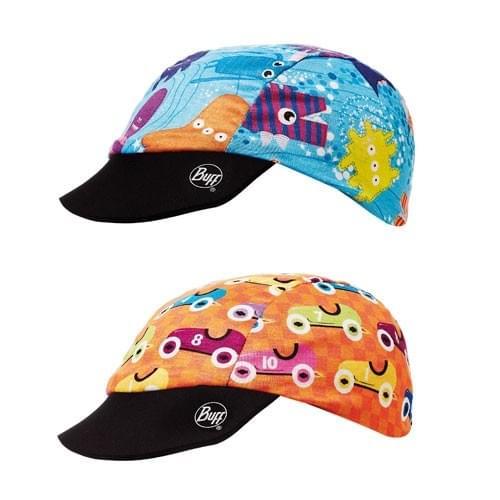 c3c3a54aa1a Dětská oboustranná UV čepice Buff Baby - race cars - Skibi Kids
