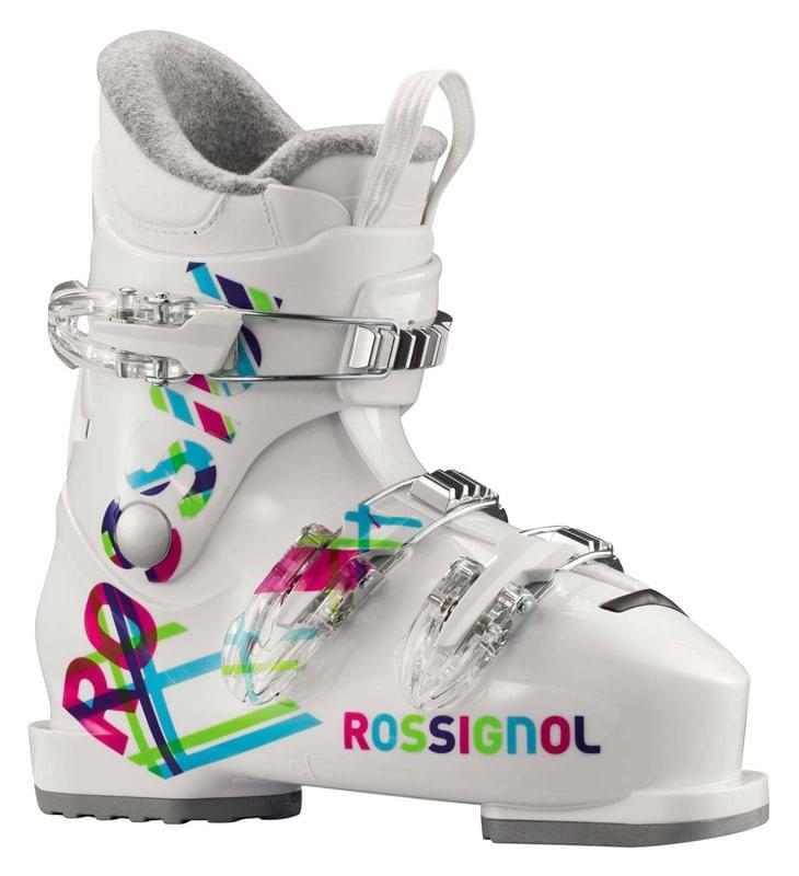 Dětské lyžařské boty Rossignol Fun Girl J3 - white - Skibi Kids a1986b1d8c