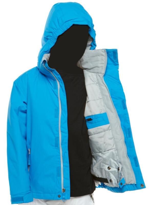 ed593052003 Chlapecká lyžařská bunda Quiksilver Next Mission Plain Youth - pacific
