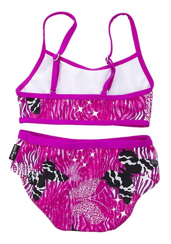 Dívčí dvoudílné plavky EleMar – Pink Butterfly - Skibi Kids ae1f878393