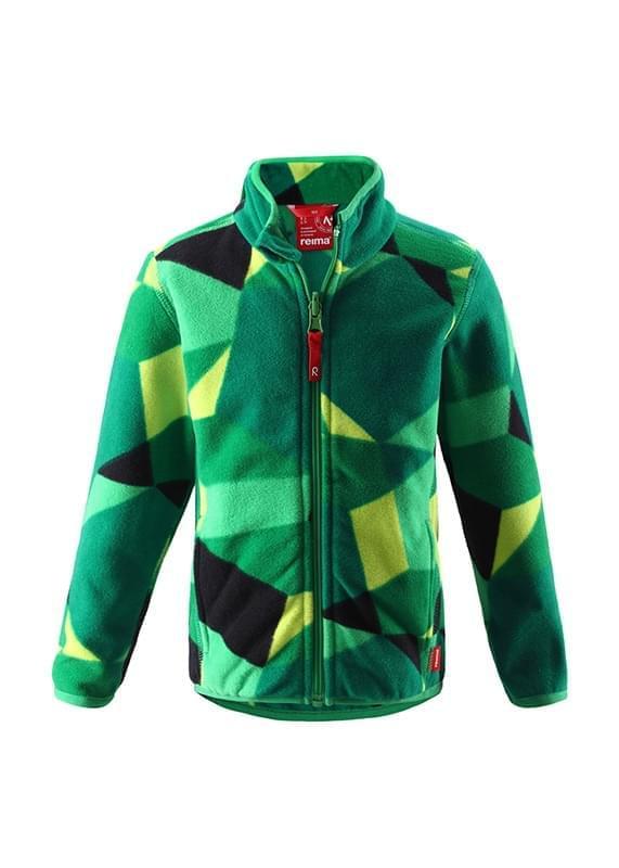 950a3838b192 Dětská fleecová bunda Reima Freeze - green - Skibi Kids