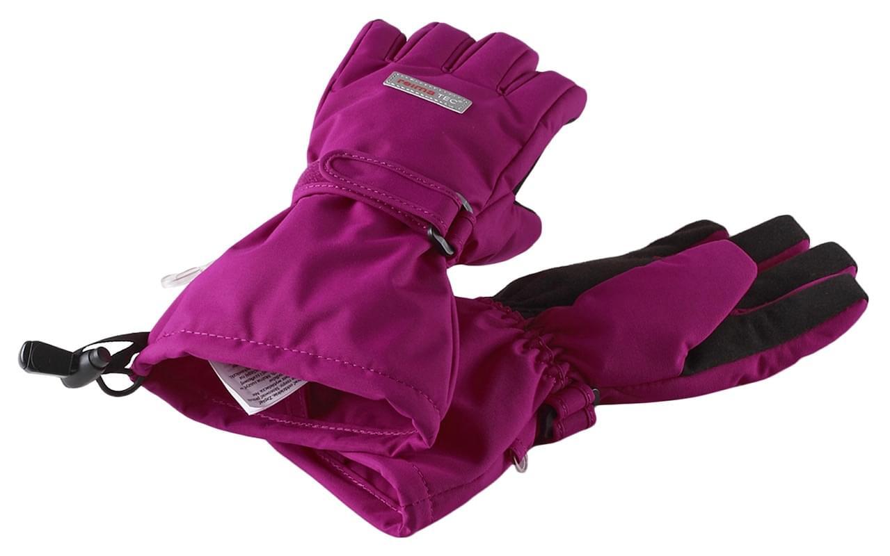 359914be421 Dětské nepromokavé membránové rukavice Reima Kiito - berry pink ...
