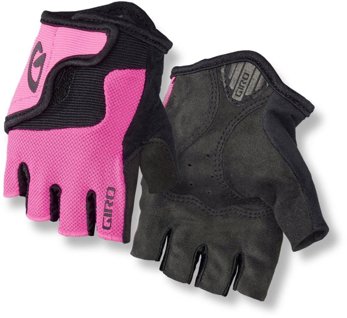 d5696213a Dětské cyklistické rukavice Giro Bravo Jr - bright pink - Skibi Kids