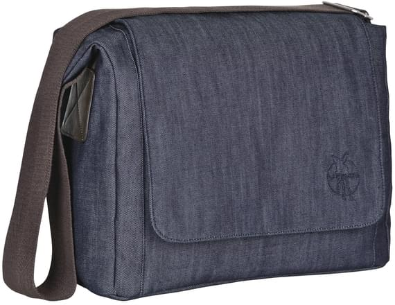 Lässig Green Label Small Messenger Bag Update denim blue