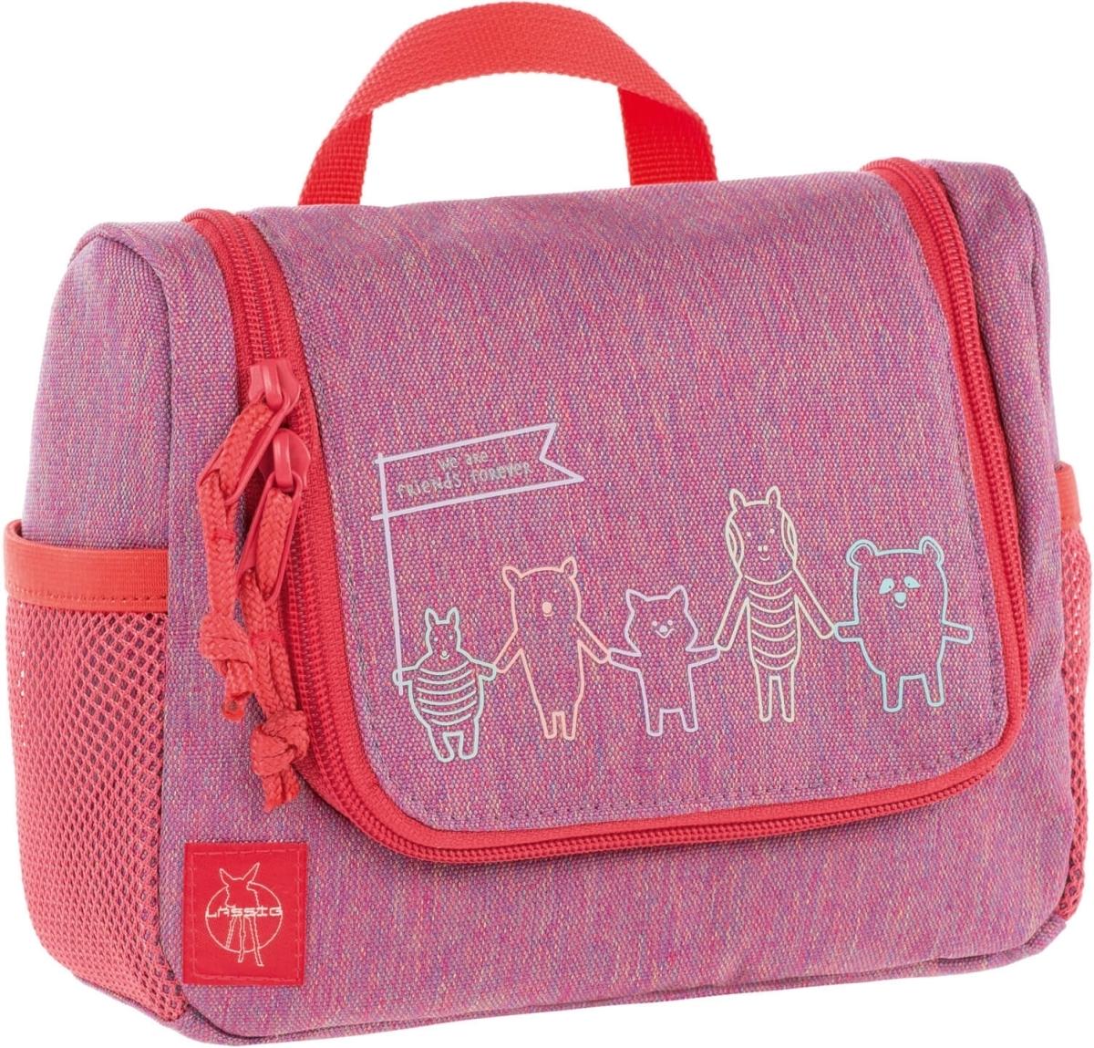 Dětská kosmetická taška Lassig Mini Washbag About Friends - mélange pink 82d694b1a3